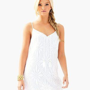 Lilly Pulitzer Dusk Strappy Lace Slip Dress